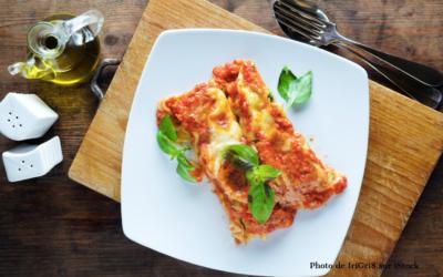 Cannelloni aux courgettes et champignons
