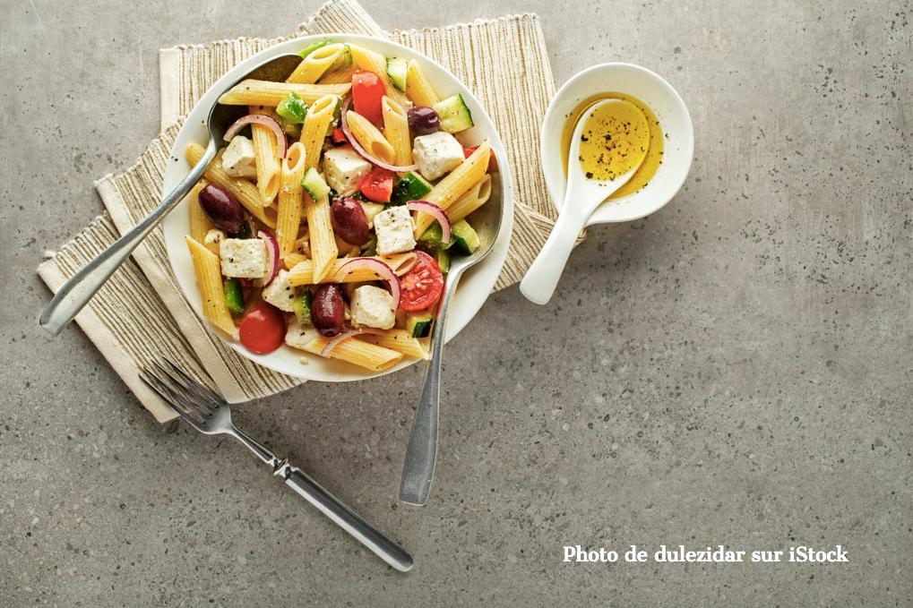 Les salades de pâtes