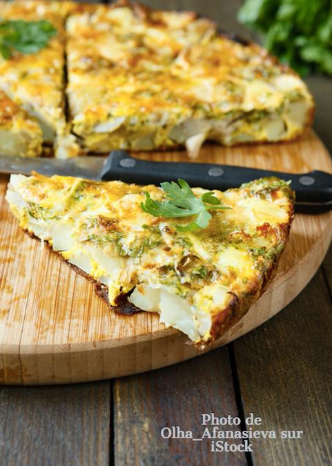 Tortilla de légumes